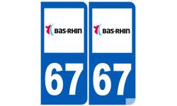 numero immatriculation 67 (Bas-Rhin)
