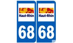 numero immatriculation 68 (Haut-Rhin)