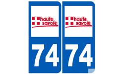 numero immatriculation 74 (Haute-Savoie)