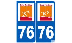 numero immatriculation 76 (Seine-Maritime)