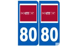 numero immatriculation 80 (Somme)