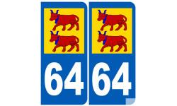 numero immatriculation Bearnais 64