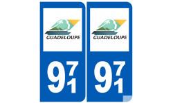 numero immatriculation 971 (Guadeloupe)