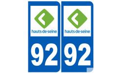 numero immatriculation 92 (Hauts-de-Seine)