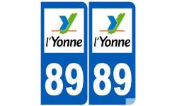 numero immatriculation 89 (Yonne)