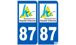 numero immatriculation 87 (Haute-Vienne)