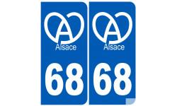 numero immatriculation 68 (Haut-Rhin) Alsace