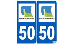 numero immatriculation 50 (region)
