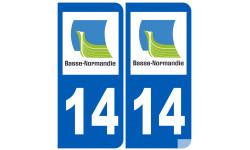 numero immatriculation 14 (region)