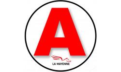 stickers / autocollant A de la Mayenne