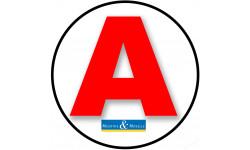 stickers / autocollant A de la Meurthe et Moselle