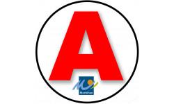 stickers / autocollant A du Morbihan
