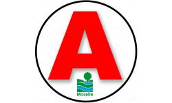 stickers / autocollant A de la Moselle