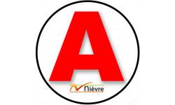 stickers / autocollant A de la Nièvre
