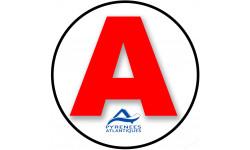 stickers / autocollant A des Pyrénees atlantiques