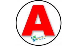 stickers / autocollant A de la Haute Saône