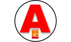 stickers / autocollant A de la Seine Maritime