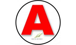 stickers / autocollant A des Deux-Sèvres