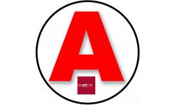 stickers / autocollant A de la Somme
