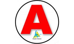 stickers / autocollant A de la Haute Vienne