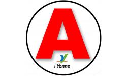 stickers / autocollant A de l'Yonne