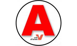 stickers / autocollant A Val d'oise