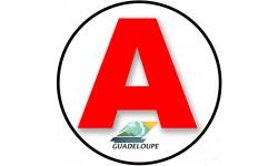 stickers / autocollant A Guadeloupe