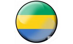 Stickers / autocollant drapeau Ganaien