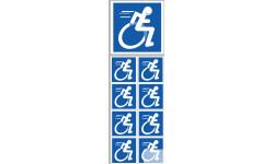 Stickers / autocollants handicape 4