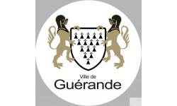 Sticker / autocollant : Guérande - 20cm