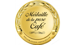 Stickers / autocollant Médaille du collaborateur séducteur