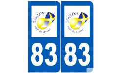 numéro immatriculation 83 ville de Toulon