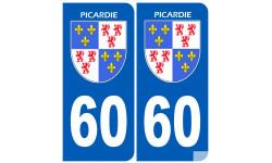 immatriculation 60 la Picardie