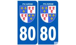 immatriculation 80 la Picardie