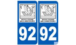 immatriculation BOULOGNE-BILLANCOURT