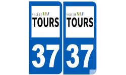 immatriculation 37 Tours