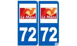 immatriculation 72 le Mans