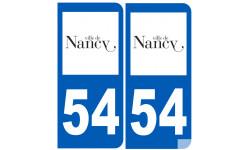 immatriculation 54 Nancy