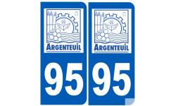 immatriculation 95 Argenteuil