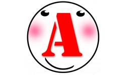 Sticker / autocollant : A t3 -15cm