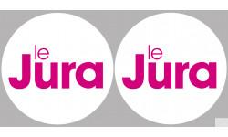 département du Jura - 2 fois 10cm