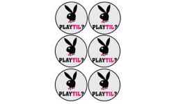 stickers / autocollant Playtil 2