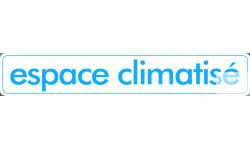 stickers autocollant espace climatisé
