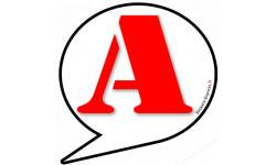 stickers / autocollant A t10