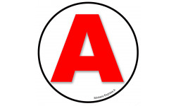 stickers / autocollant A 17