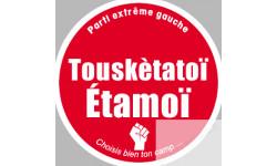 """Choisi ton camp """"le parti extrême gauche"""""""