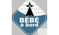 bébé à bord breton hermine