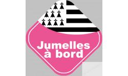 bébés à bord jumelles bretonnes