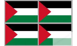 Stickers / autocollants drapeau Palestine 2