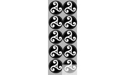 stickers / autocollant Triskele